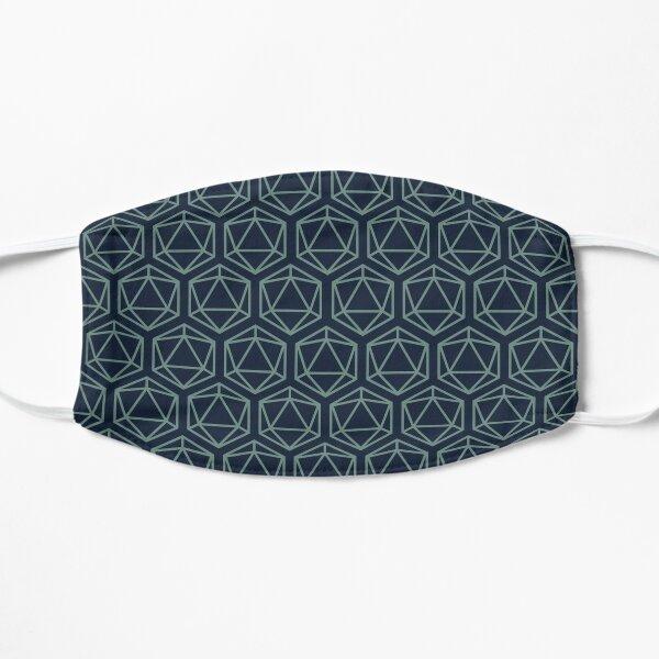 20 sided gaming die pattern design Mask