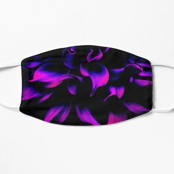 Fiery Purple Flower Mask