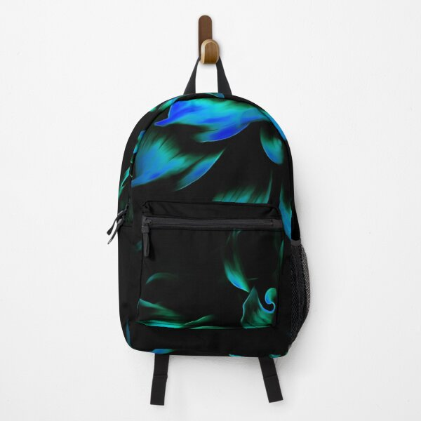 Fiery Smooth Blue Backpack