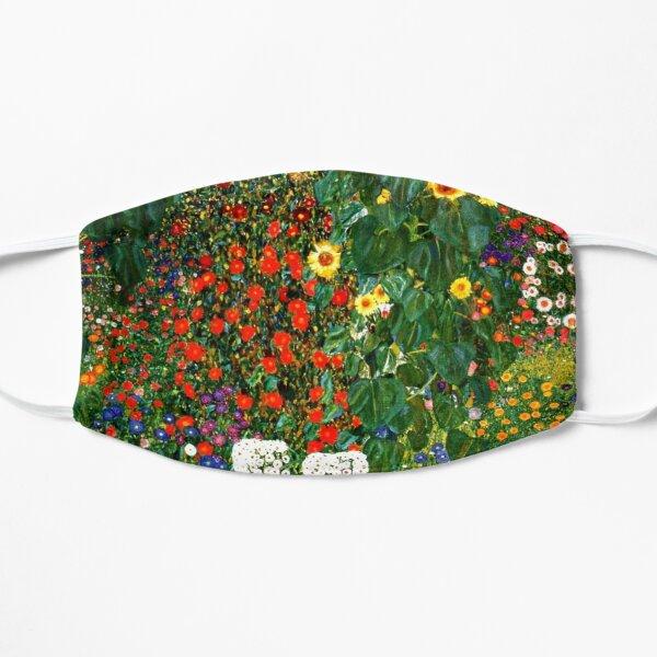 Klimt - Farm Garden with Sunflowers Mask