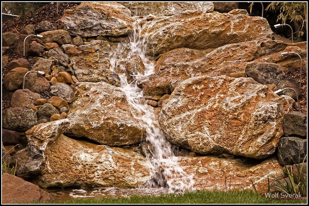 Waterfall by Wolf Sverak
