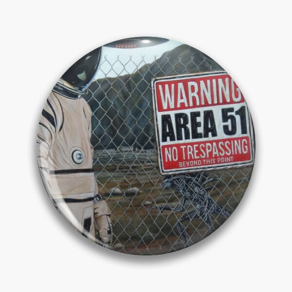 Area 51 Pin