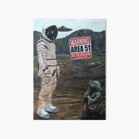 Area 51 Art Board Print