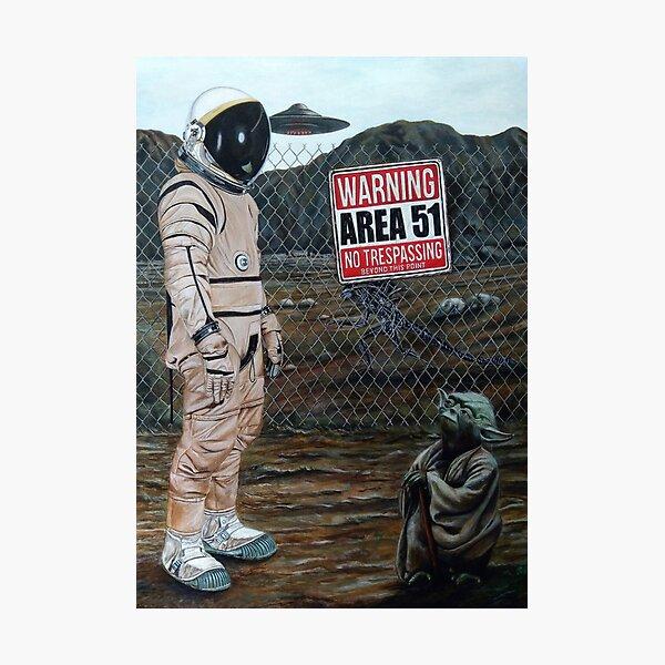 Area 51 Photographic Print