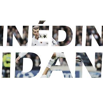 Zinedine Zidane de okankokku