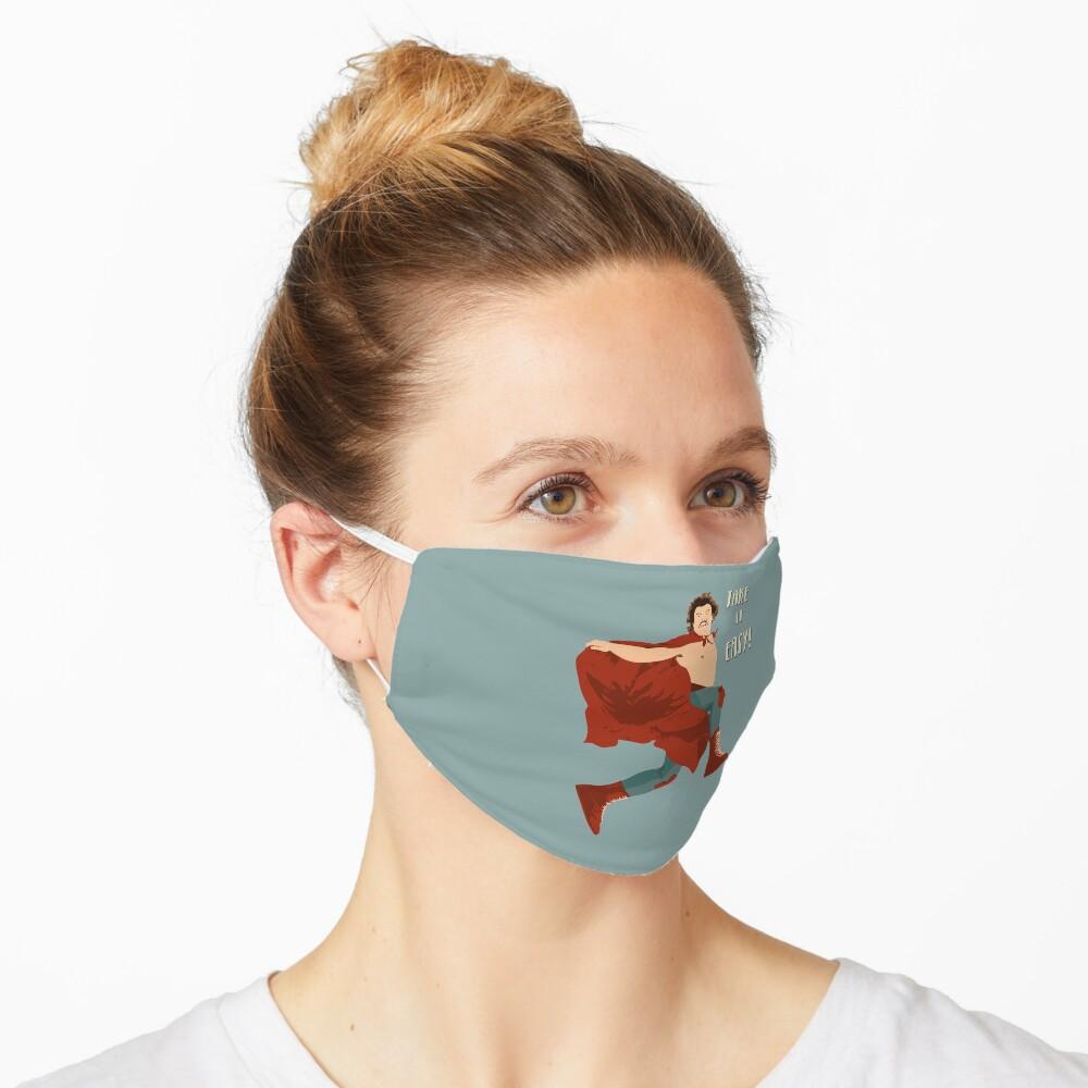 Take It Easy, El Luchador Mascarado Artwork Mask
