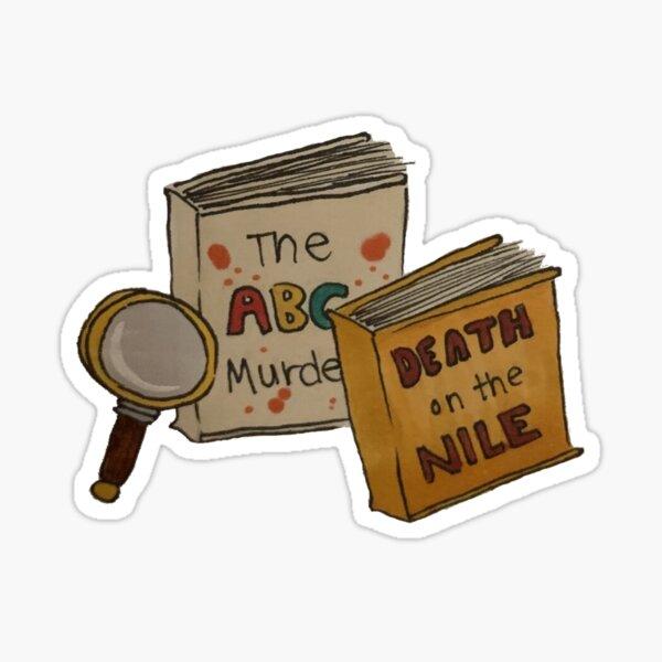 Agatha Christie Novels Sticker