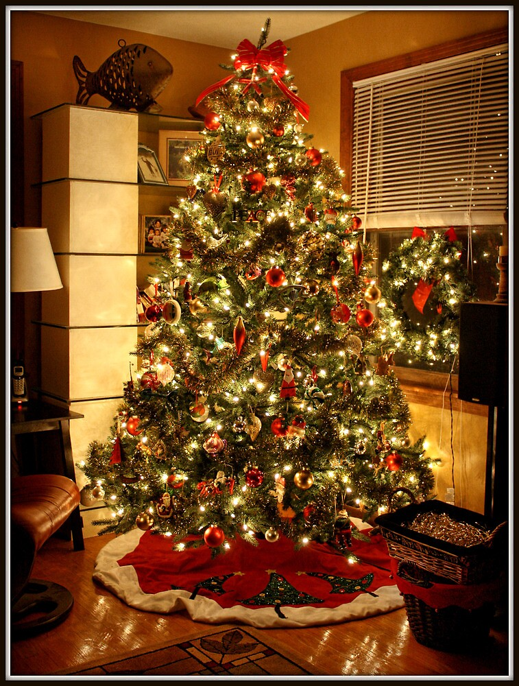 By The Light Of The Xmas Tree by Mikell Herrick