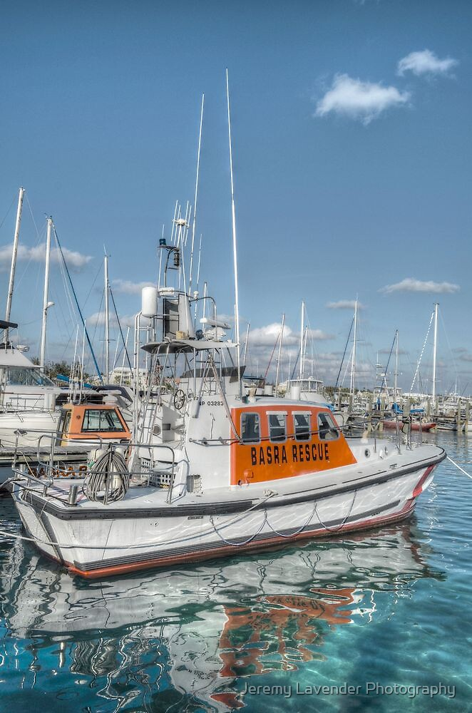 BASRA Rescue Boat in Nassau, The Bahamas by Jeremy Lavender Photography