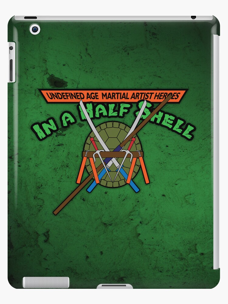 Heroes in a half shell - iPad Case by D4N13L