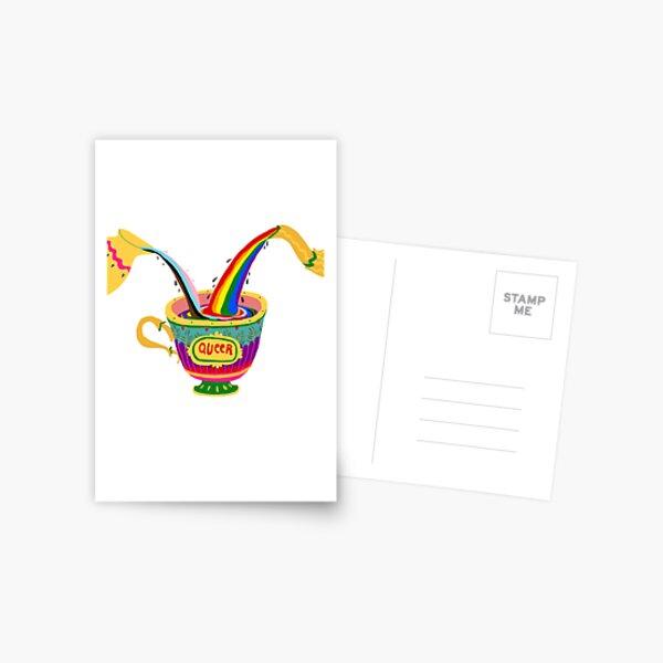 LGBTEA Postcard
