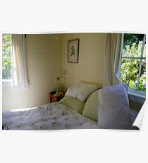 Lyness cottage bedroom Poster