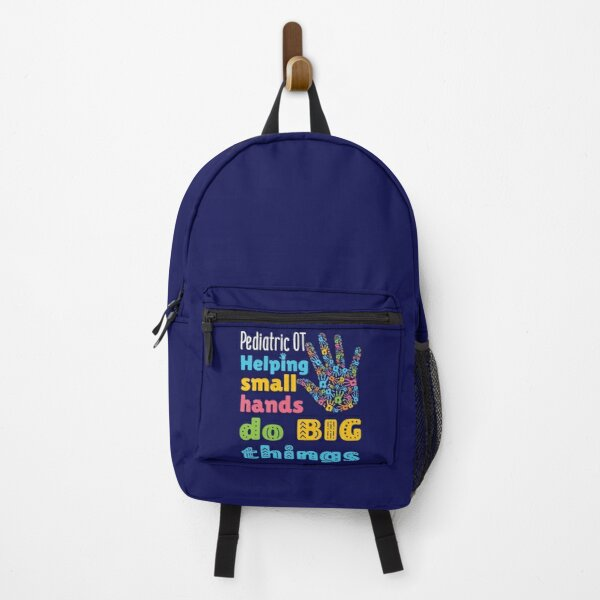Pediatric OT Helping Small Hands Do Big Things Backpack