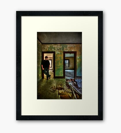 Beyond Regrets Of The Past Framed Print
