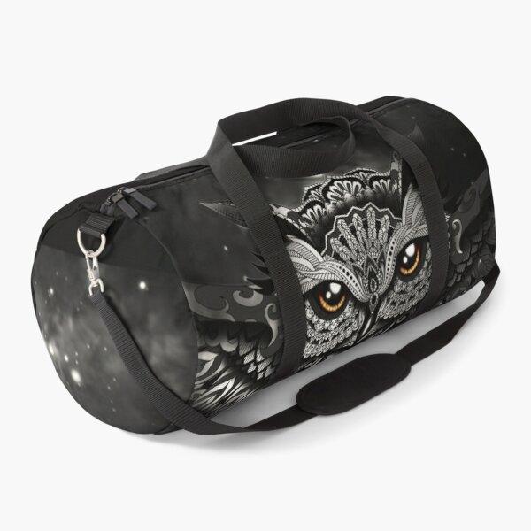 Cosmic Baby Owl - Black Duffle Bag