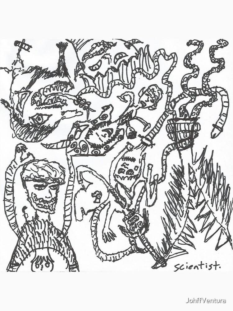 The Snake Armed Man- Scientist  by JohffVentura