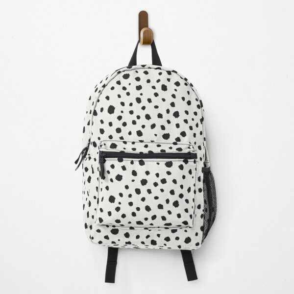 Spots Animal Print Backpack
