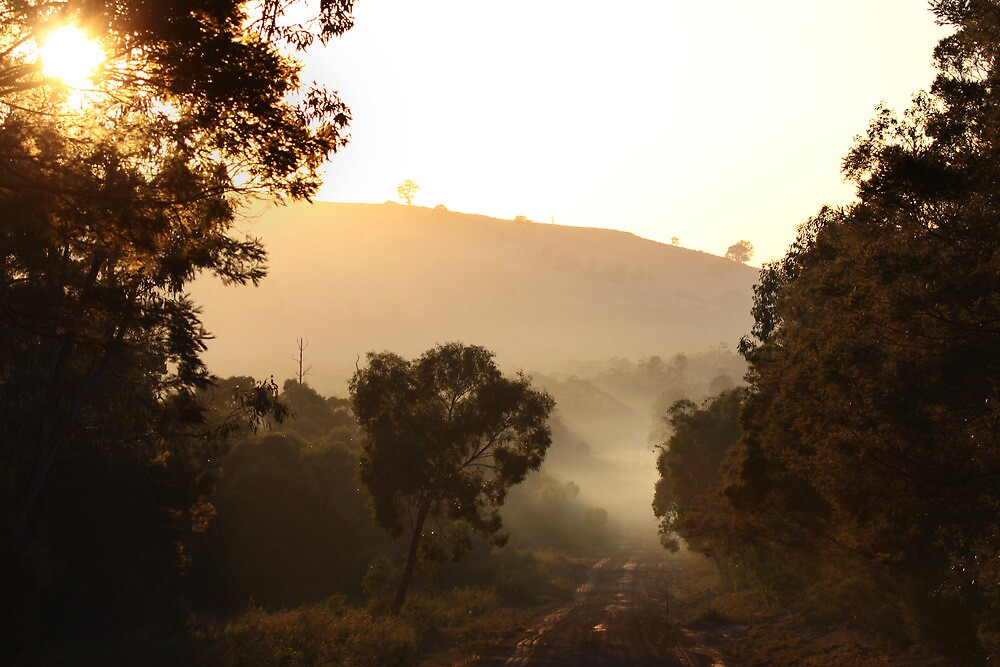 dusty sunrise - Grampians Nation Park, Victoria by Marty Samis
