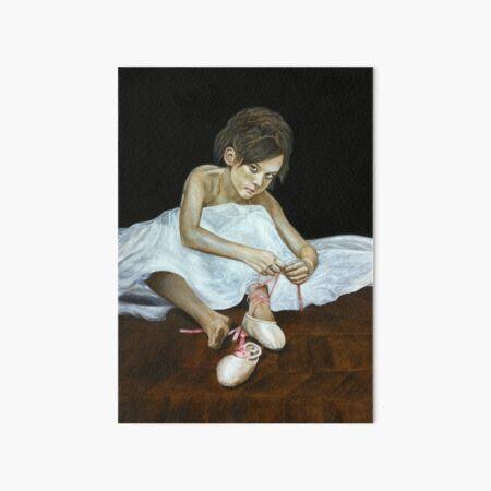 La petite danseuse Art Board Print