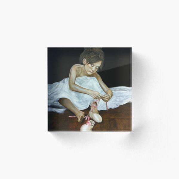 La petite danseuse Acrylic Block