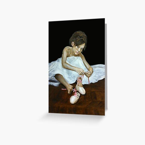 La petite danseuse Greeting Card