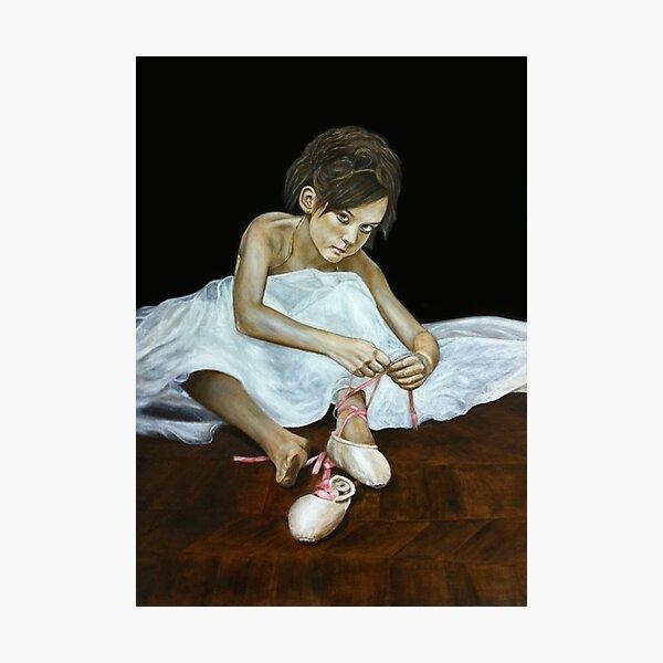 La petite danseuse Photographic Print