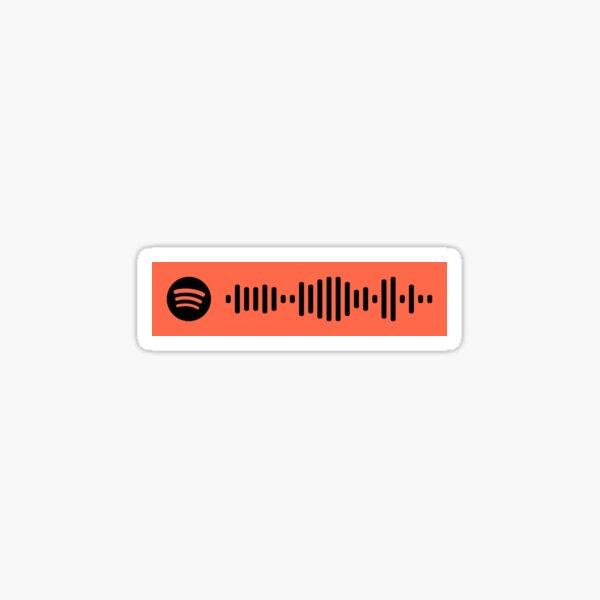 Feeling Whitney Spotify Scan Code Sticker