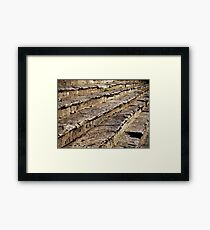 Arezzo Stairs Framed Print