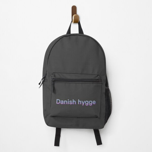 Danish hygge logo Backpack