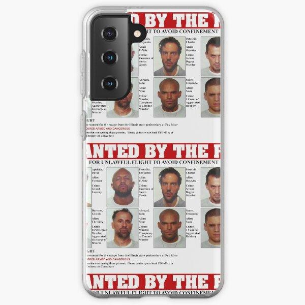 Prison Break FBI Wanted Poster Samsung Galaxy Soft Case