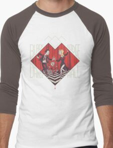 BLACK LODGE DANCE HALL Men's Baseball ¾ T-Shirt