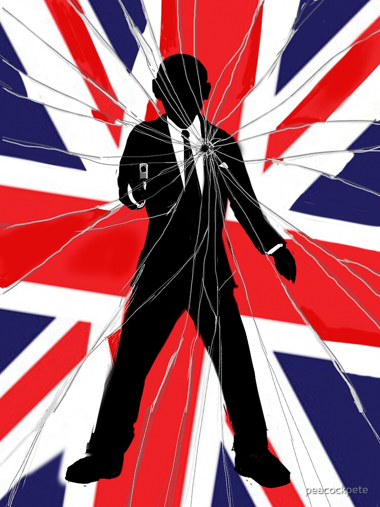 Made In Britain: James Bond, 007 by peacockpete
