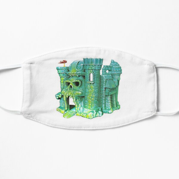 Retro - CASTLE GRAYSKULL - The Most Powerful Playset in the Universe !!  Flat Mask