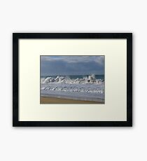 A Rough day in Paradise - Paradise Beach, Victoria Framed Print