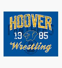 Hoover Wrestling 3 Photographic Print
