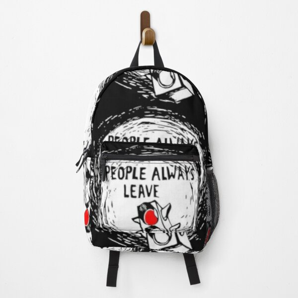 One Tree Hill People Always Leave Backpack