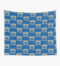 Hoover Wrestling 3 Wall Tapestry