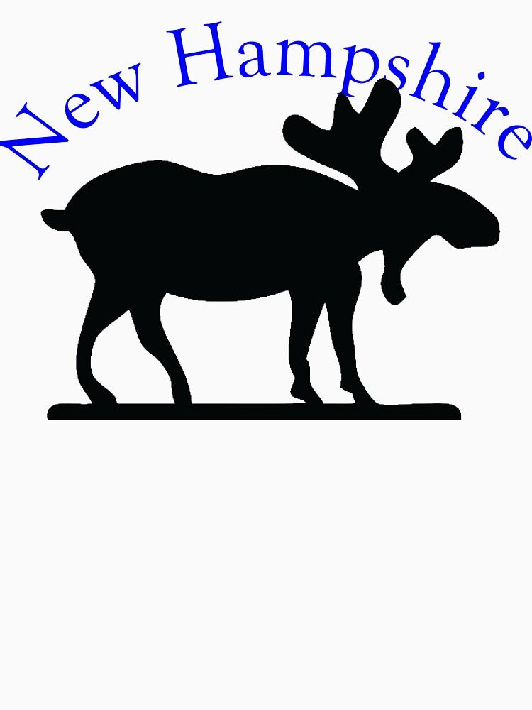 New Hampshire Moose by pjwuebker
