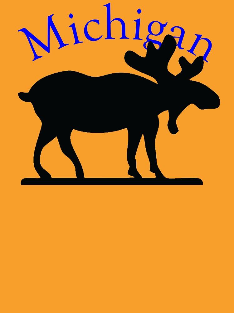 Michigan Moose by pjwuebker
