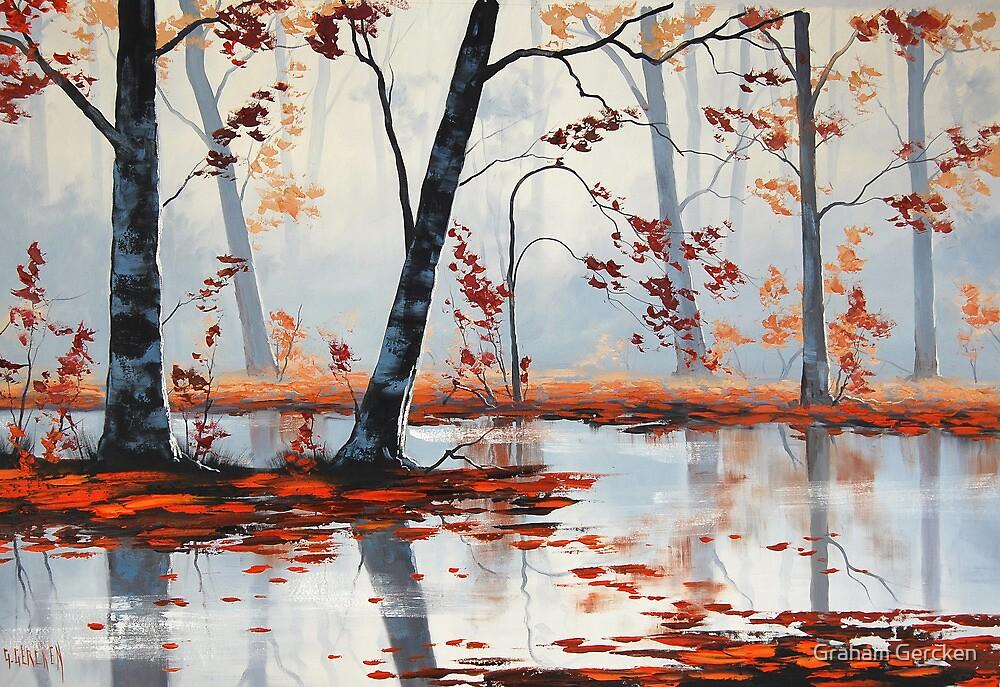 Woodland Fall by Graham Gercken