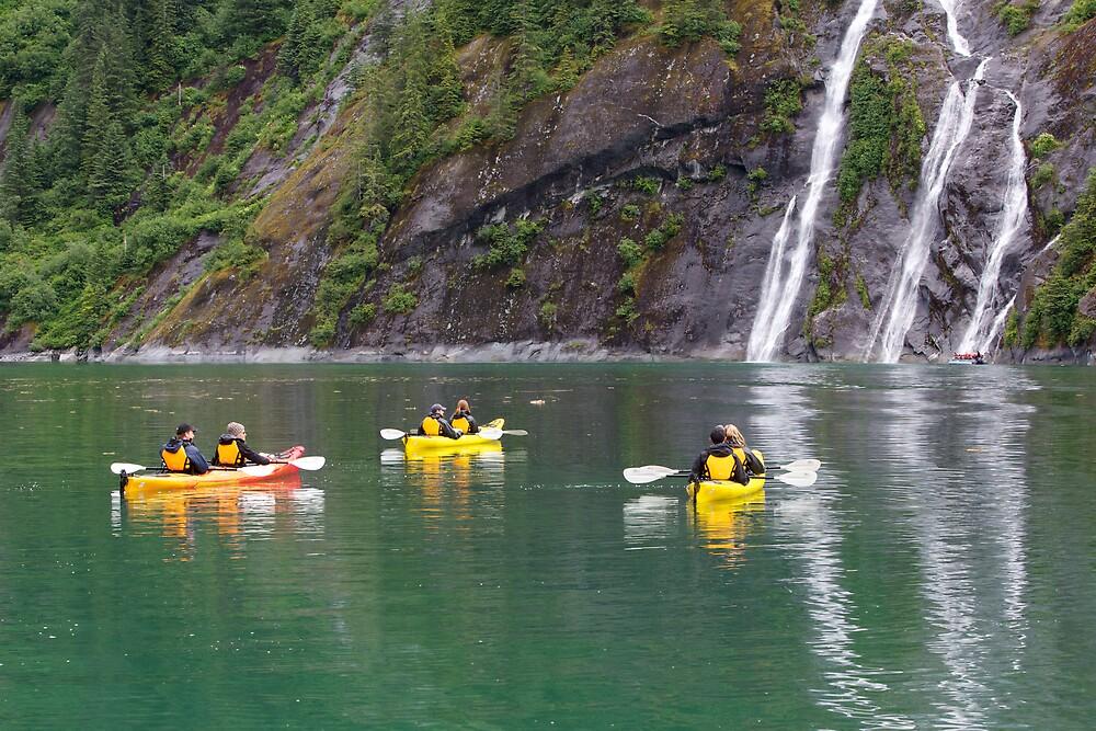Sea Kayaking at Ford's Terror by Jocelyn Pride