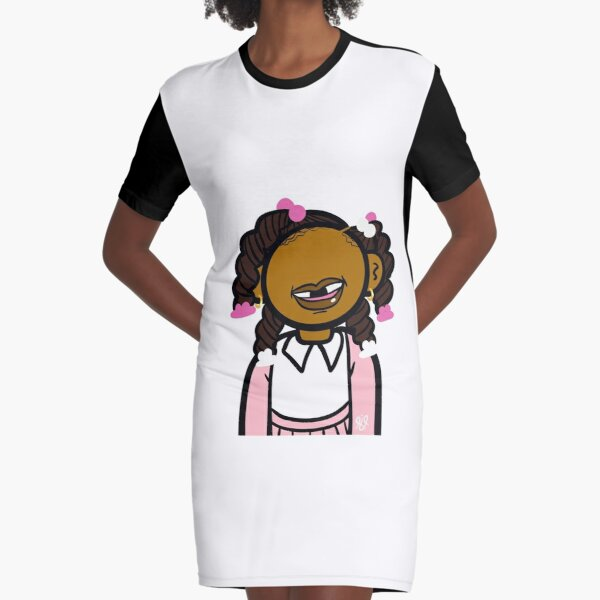 Lauryn is the girl! Graphic T-Shirt Dress