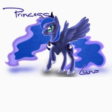 Princess Luna by BlakeFox