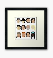 The Walking Dead Framed Print