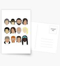 The Walking Dead Postcards