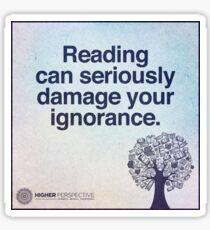 La lecture Sticker