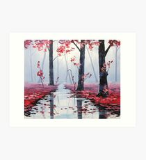 Mystic Landscape Art Print