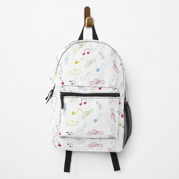 doodle musical notes Backpack