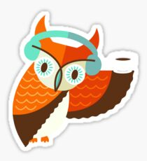 Winter Owl Sticker