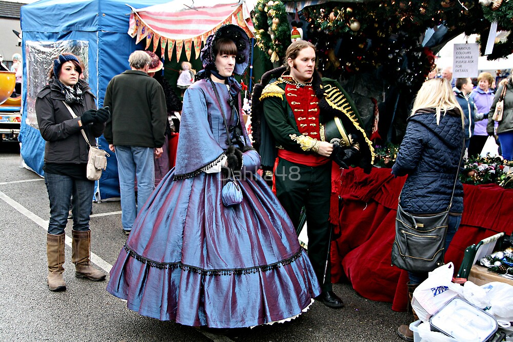 DICKENSIAN DRESS . by Dahlia48